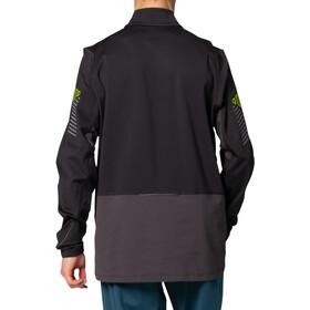 asics Lite-Show Maglietta Invernale A Maniche Lunghe Con Mezza Zip Uomo, performance black/graphite grey